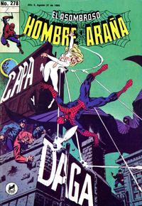 Cover Thumbnail for El Asombroso Hombre Araña (Novedades, 1980 series) #278