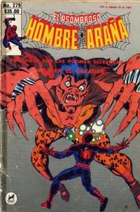 Cover Thumbnail for El Asombroso Hombre Araña (Novedades, 1980 series) #279