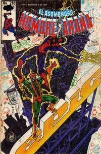 Cover Thumbnail for El Asombroso Hombre Araña (Novedades, 1980 series) #280