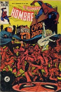 Cover Thumbnail for El Asombroso Hombre Araña (Novedades, 1980 series) #283