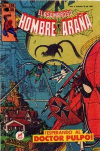 Cover Thumbnail for El Asombroso Hombre Araña (Novedades, 1980 series) #286