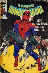 Cover Thumbnail for El Asombroso Hombre Araña (Novedades, 1980 series) #291
