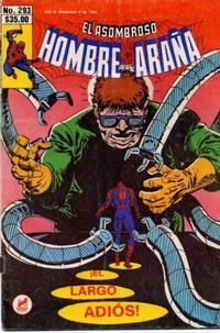 Cover Thumbnail for El Asombroso Hombre Araña (Novedades, 1980 series) #293