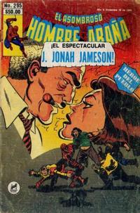 Cover Thumbnail for El Asombroso Hombre Araña (Novedades, 1980 series) #295