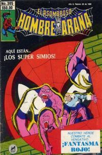 Cover Thumbnail for El Asombroso Hombre Araña (Novedades, 1980 series) #305
