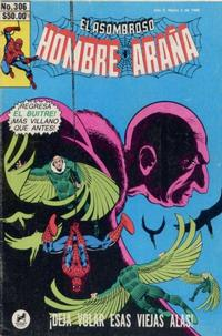 Cover Thumbnail for El Asombroso Hombre Araña (Novedades, 1980 series) #306