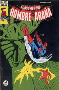 Cover Thumbnail for El Asombroso Hombre Araña (Novedades, 1980 series) #307