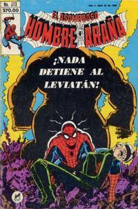 Cover Thumbnail for El Asombroso Hombre Araña (Novedades, 1980 series) #313