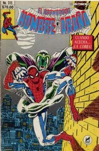 Cover Thumbnail for El Asombroso Hombre Araña (Novedades, 1980 series) #315