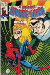 Cover for El Asombroso Hombre Araña (Novedades, 1980 series) #324
