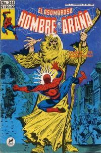 Cover Thumbnail for El Asombroso Hombre Araña (Novedades, 1980 series) #344