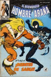 Cover Thumbnail for El Asombroso Hombre Araña (Novedades, 1980 series) #364