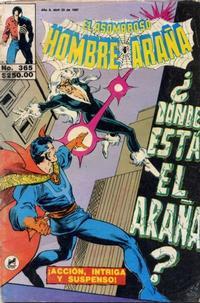 Cover Thumbnail for El Asombroso Hombre Araña (Novedades, 1980 series) #365