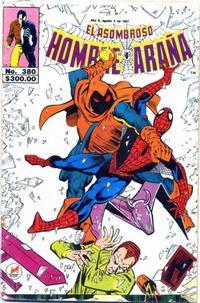 Cover Thumbnail for El Asombroso Hombre Araña (Novedades, 1980 series) #380