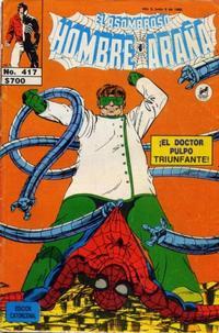 Cover Thumbnail for El Asombroso Hombre Araña (Novedades, 1980 series) #417