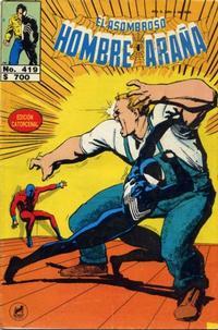 Cover Thumbnail for El Asombroso Hombre Araña (Novedades, 1980 series) #419