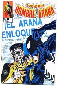 Cover Thumbnail for El Asombroso Hombre Araña (Novedades, 1980 series) #421