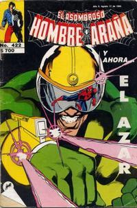 Cover Thumbnail for El Asombroso Hombre Araña (Novedades, 1980 series) #422