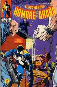 Cover Thumbnail for El Asombroso Hombre Araña (Novedades, 1980 series) #429