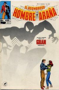 Cover Thumbnail for El Asombroso Hombre Araña (Novedades, 1980 series) #430