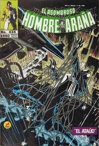 Cover Thumbnail for El Asombroso Hombre Araña (Novedades, 1980 series) #434