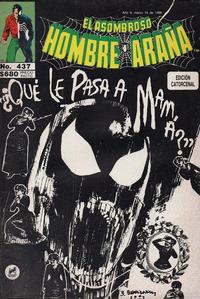 Cover Thumbnail for El Asombroso Hombre Araña (Novedades, 1980 series) #437