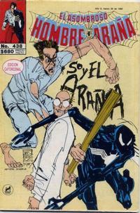 Cover Thumbnail for El Asombroso Hombre Araña (Novedades, 1980 series) #438