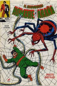 Cover Thumbnail for El Asombroso Hombre Araña (Novedades, 1980 series) #439