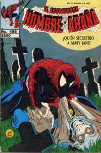 Cover Thumbnail for El Asombroso Hombre Araña (Novedades, 1980 series) #456