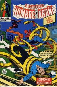 Cover Thumbnail for El Asombroso Hombre Araña (Novedades, 1980 series) #460