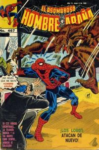 Cover Thumbnail for El Asombroso Hombre Araña (Novedades, 1980 series) #467