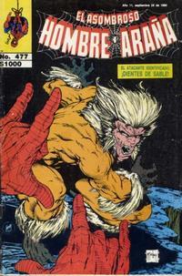 Cover Thumbnail for El Asombroso Hombre Araña (Novedades, 1980 series) #477