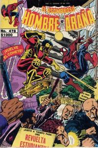 Cover Thumbnail for El Asombroso Hombre Araña (Novedades, 1980 series) #478