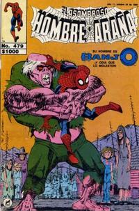 Cover Thumbnail for El Asombroso Hombre Araña (Novedades, 1980 series) #479