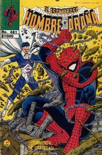 Cover Thumbnail for El Asombroso Hombre Araña (Novedades, 1980 series) #481