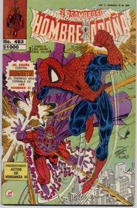 Cover Thumbnail for El Asombroso Hombre Araña (Novedades, 1980 series) #483