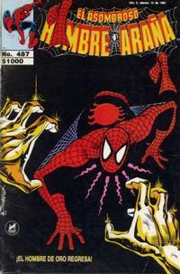Cover Thumbnail for El Asombroso Hombre Araña (Novedades, 1980 series) #487