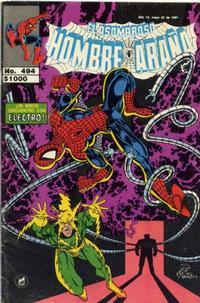 Cover Thumbnail for El Asombroso Hombre Araña (Novedades, 1980 series) #494