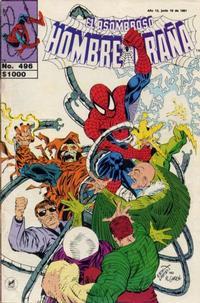 Cover Thumbnail for El Asombroso Hombre Araña (Novedades, 1980 series) #496