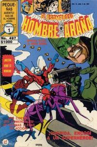 Cover Thumbnail for El Asombroso Hombre Araña (Novedades, 1980 series) #497