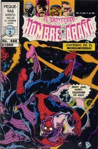 Cover Thumbnail for El Asombroso Hombre Araña (Novedades, 1980 series) #498