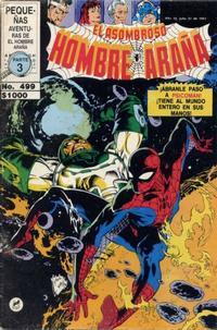 Cover Thumbnail for El Asombroso Hombre Araña (Novedades, 1980 series) #499