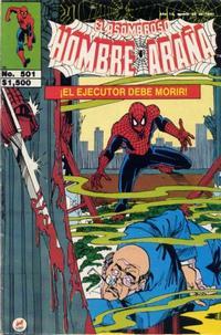 Cover Thumbnail for El Asombroso Hombre Araña (Novedades, 1980 series) #501
