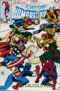 Cover Thumbnail for El Asombroso Hombre Araña (Novedades, 1980 series) #505