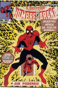 Cover Thumbnail for El Asombroso Hombre Araña (Novedades, 1980 series) #507