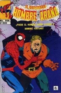Cover Thumbnail for El Asombroso Hombre Araña (Novedades, 1980 series) #509