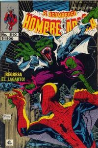 Cover Thumbnail for El Asombroso Hombre Araña (Novedades, 1980 series) #510