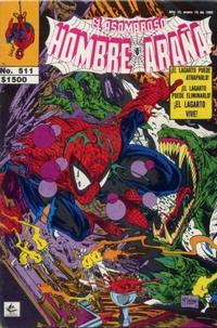 Cover Thumbnail for El Asombroso Hombre Araña (Novedades, 1980 series) #511
