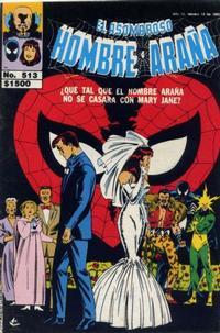 Cover Thumbnail for El Asombroso Hombre Araña (Novedades, 1980 series) #513