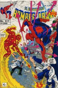 Cover Thumbnail for El Asombroso Hombre Araña (Novedades, 1980 series) #517